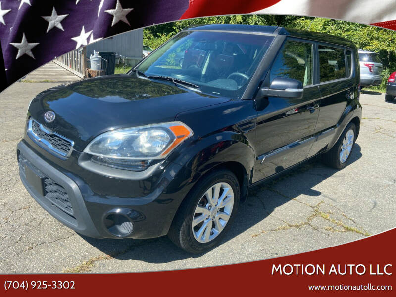 2012 Kia Soul for sale at Motion Auto LLC in Kannapolis NC
