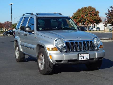2007 Jeep Liberty for sale at Gilroy Motorsports in Gilroy CA