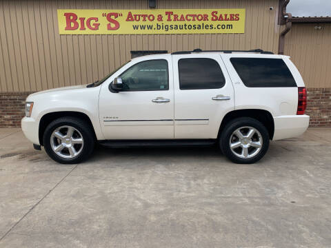 2011 Chevrolet Tahoe for sale at BIG 'S' AUTO & TRACTOR SALES in Blanchard OK
