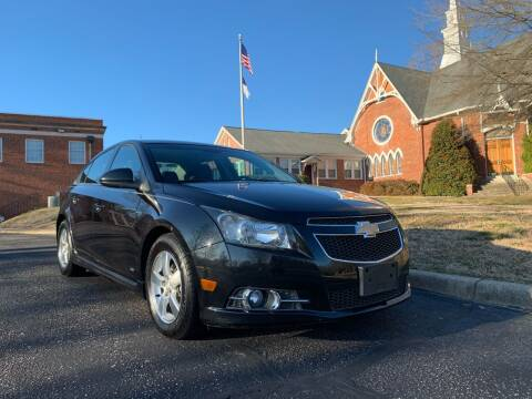 2012 Chevrolet Cruze for sale at Automax of Eden in Eden NC