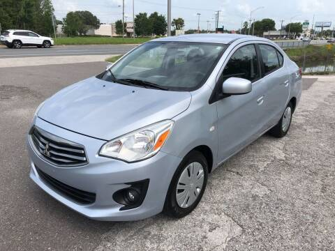 2018 Mitsubishi Mirage G4 for sale at Reliable Motor Broker INC in Tampa FL