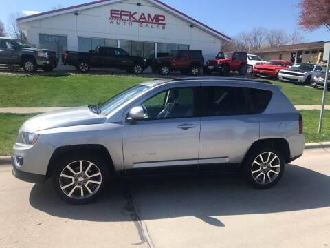 2016 Jeep Compass for sale at Efkamp Auto Sales LLC in Des Moines IA