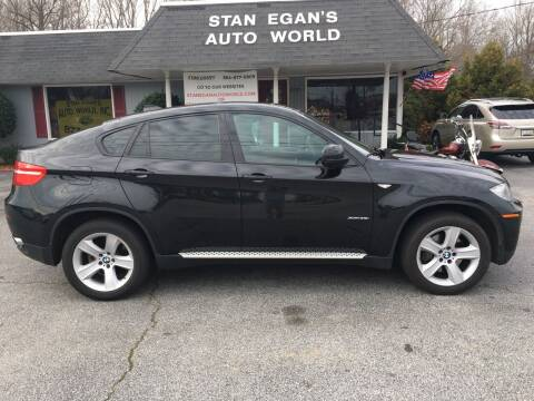 2010 BMW X6 for sale at STAN EGAN'S AUTO WORLD, INC. in Greer SC