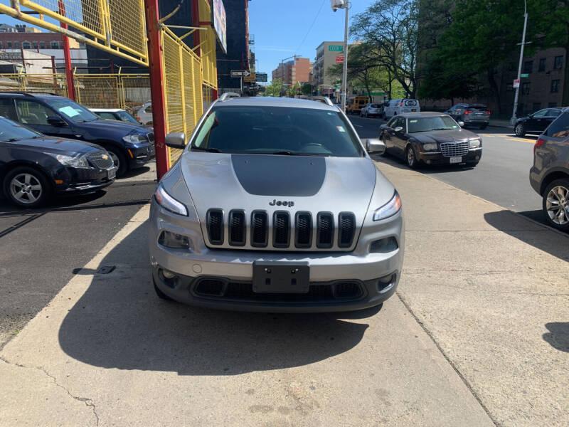 2014 Jeep Cherokee for sale at Raceway Motors Inc in Brooklyn NY