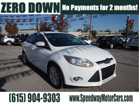 2012 Ford Focus for sale at Speedway Motors in Murfreesboro TN