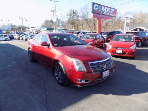 2009 Cadillac CTS for sale at Comet Auto Sales in Manchester NH