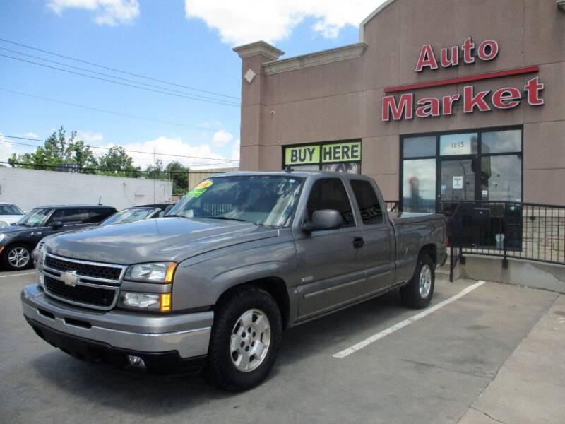 2006 Chevrolet Silverado 1500 for sale at Auto Market in Oklahoma City OK