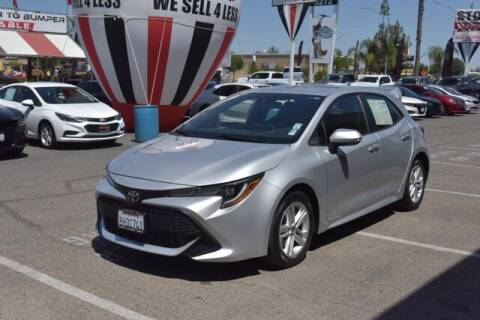 2019 Toyota Corolla Hatchback for sale at Choice Motors in Merced CA
