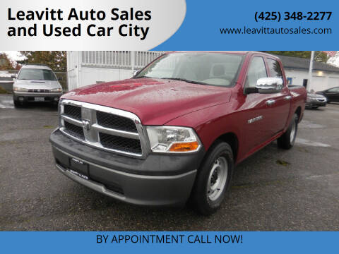 2011 RAM Ram Pickup 1500 for sale at Leavitt Auto Sales and Used Car City in Everett WA
