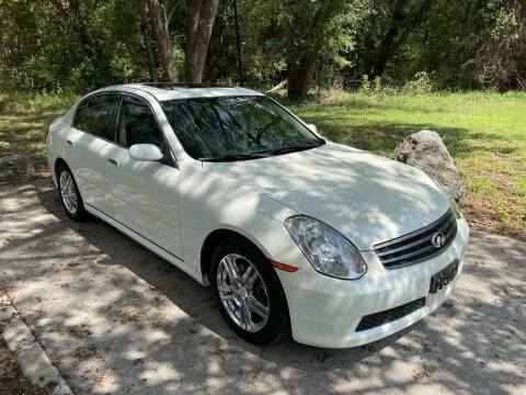 2006 Infiniti G35 for sale at Quality Auto Group in San Antonio TX