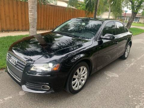 2012 Audi A4 for sale at FINANCIAL CLAIMS & SERVICING INC in Hollywood FL