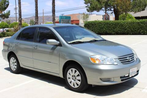 2004 Toyota Corolla for sale at Car 1234 inc in El Cajon CA