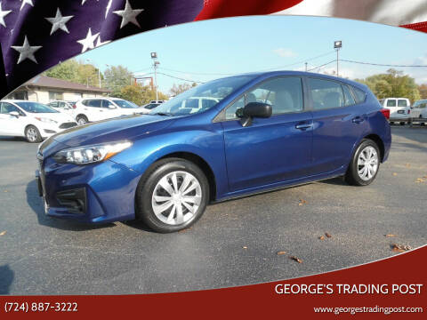 2017 Subaru Impreza for sale at GEORGE'S TRADING POST in Scottdale PA