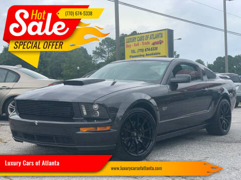 2007 Ford Mustang for sale at Luxury Cars of Atlanta in Snellville GA