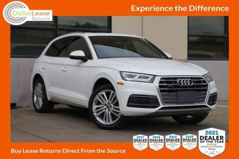 2018 Audi Q5 for sale at Dallas Auto Finance in Dallas TX
