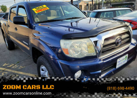 2006 Toyota Tacoma for sale at ZOOM CARS LLC in Sylmar CA