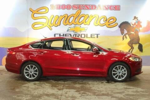 2017 Ford Fusion for sale at Sundance Chevrolet in Grand Ledge MI