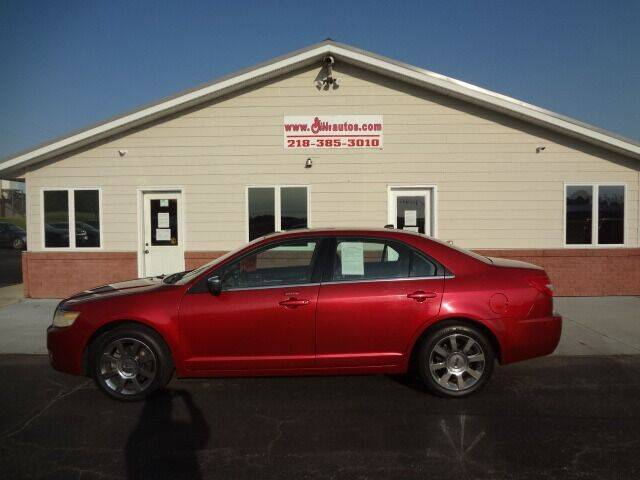 2008 Lincoln MKZ for sale at GIBB'S 10 SALES LLC in New York Mills MN