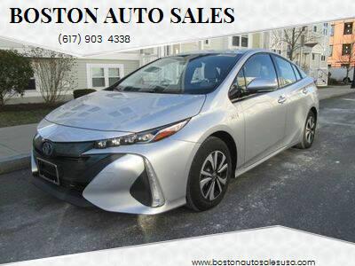 2017 Toyota Prius Prime for sale at Boston Auto Sales in Brighton MA