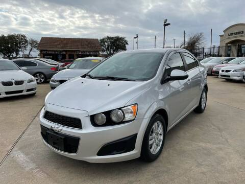 2015 Chevrolet Sonic for sale at CityWide Motors in Garland TX
