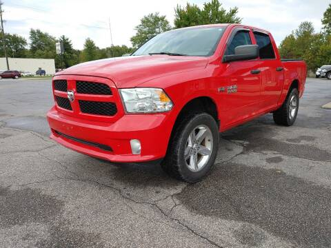 2013 RAM Ram Pickup 1500 for sale at Cruisin' Auto Sales in Madison IN