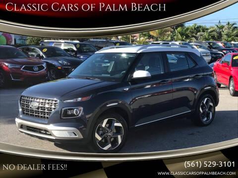 2020 Hyundai Venue for sale at Classic Cars of Palm Beach in Jupiter FL