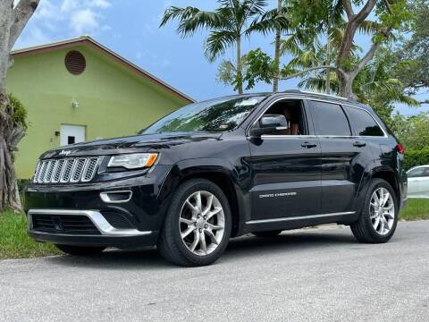 2015 Jeep Grand Cherokee for sale at Auto Direct of South Broward in Miramar FL