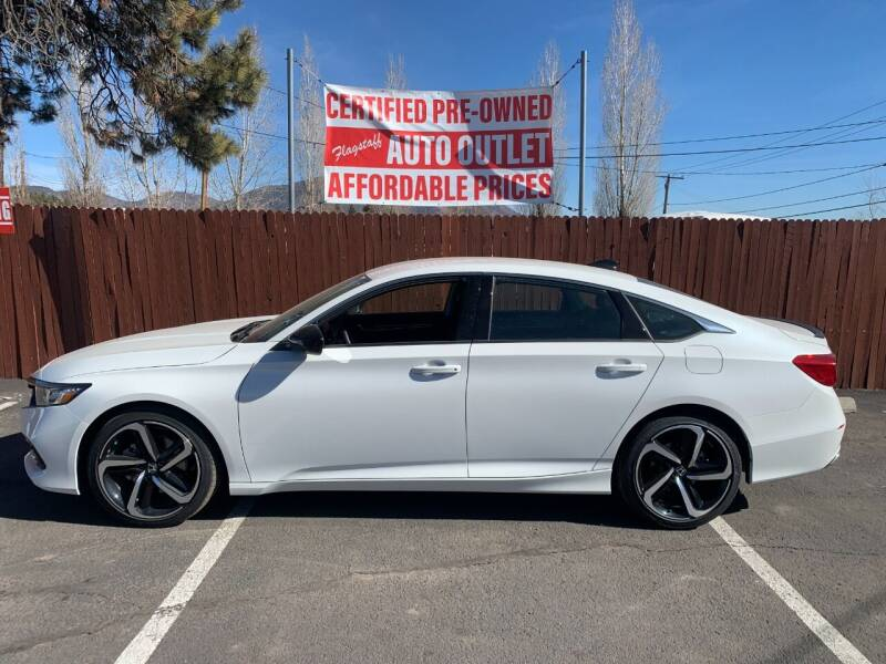 2021 Honda Accord for sale at Flagstaff Auto Outlet in Flagstaff AZ