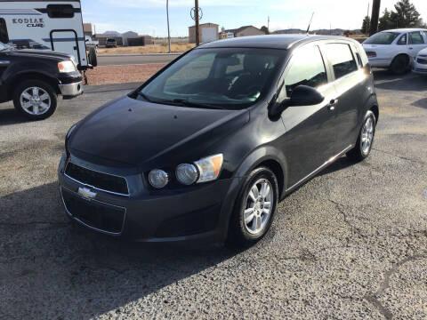 2012 Chevrolet Sonic for sale at SPEND-LESS AUTO in Kingman AZ