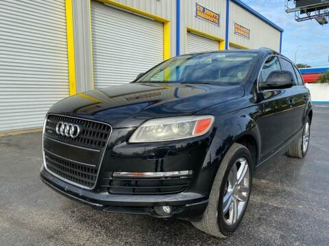2008 Audi Q7 for sale at RoMicco Cars and Trucks in Tampa FL