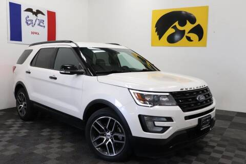 2017 Ford Explorer for sale at Carousel Auto Group in Iowa City IA
