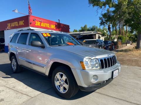 2005 Jeep Grand Cherokee for sale at 3K Auto in Escondido CA