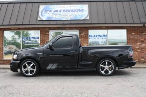 2003 Ford F-150 SVT Lightning for sale at Platinum Auto World in Fredericksburg VA