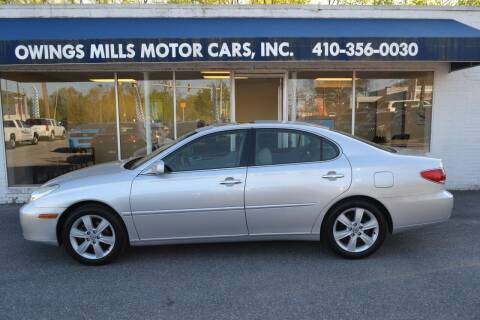 2005 Lexus ES 330 for sale at Owings Mills Motor Cars in Owings Mills MD