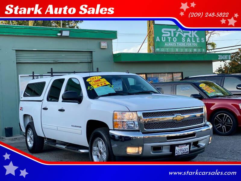 2012 Chevrolet Silverado 1500 for sale at Stark Auto Sales in Modesto CA
