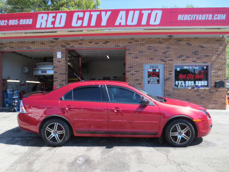 2008 Ford Fusion for sale at Red City  Auto in Omaha NE