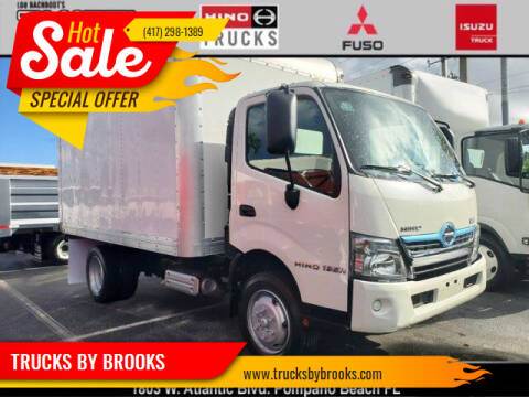 2017 Hino 195 for sale at TRUCKS BY BROOKS in Pompano Beach FL