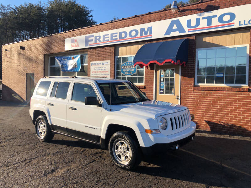 2016 Jeep Patriot for sale at FREEDOM AUTO LLC in Wilkesboro NC