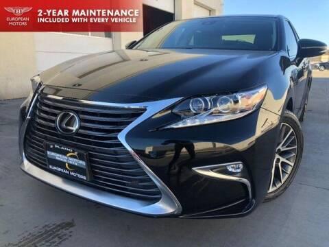 2017 Lexus ES 350 for sale at European Motors Inc in Plano TX