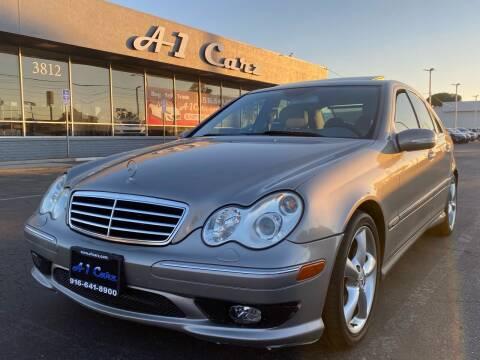2006 Mercedes-Benz C-Class for sale at A1 Carz, Inc in Sacramento CA