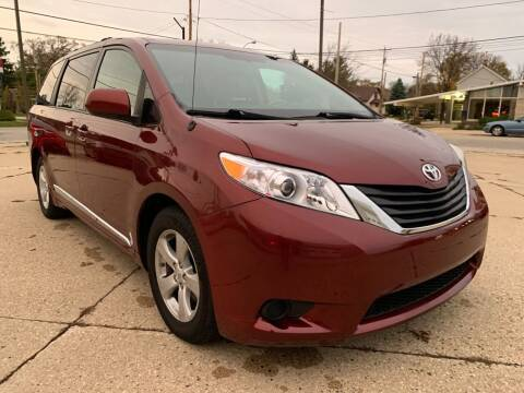 2014 Toyota Sienna for sale at Auto Gallery LLC in Burlington WI