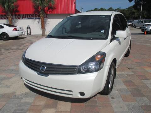 2009 Nissan Quest for sale at Affordable Auto Motors in Jacksonville FL