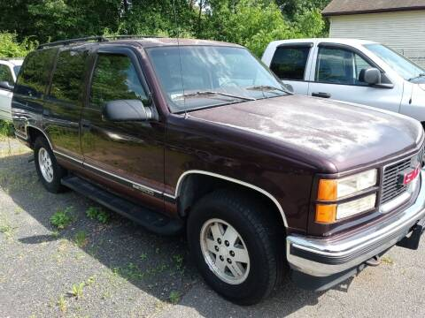 1997 GMC Yukon for sale at Balfour Motors in Agawam MA
