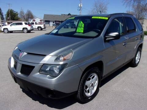2004 Pontiac Aztek for sale at Ideal Auto Sales, Inc. in Waukesha WI