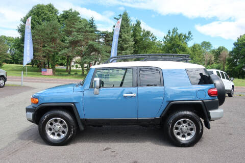 2012 Toyota FJ Cruiser for sale at GEG Automotive in Gilbertsville PA