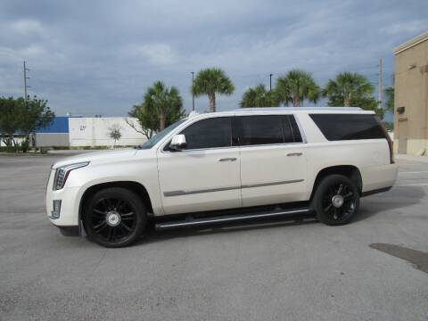 2015 Cadillac Escalade ESV for sale at Easy Deal Auto Brokers in Hollywood FL