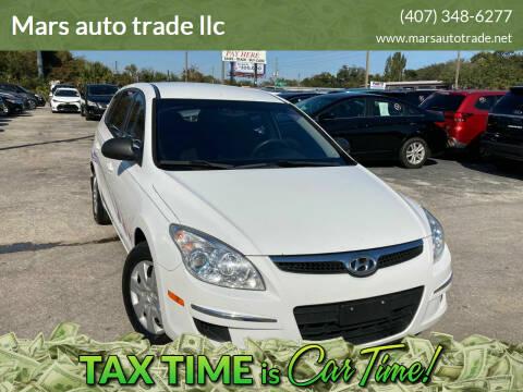 2012 Hyundai Elantra Touring for sale at Mars auto trade llc in Kissimmee FL