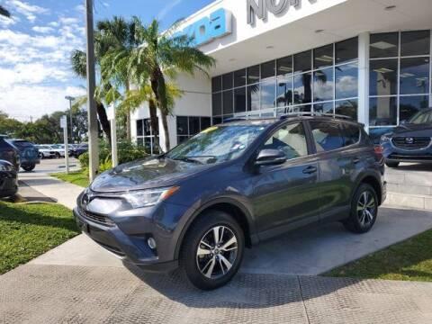 2017 Toyota RAV4 for sale at Mazda of North Miami in Miami FL