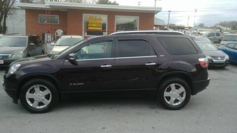 2008 GMC Acadia for sale at Lewis Used Cars in Elizabethton TN