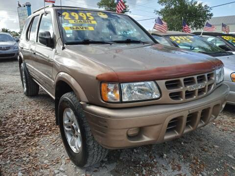 2002 Isuzu Rodeo for sale at AFFORDABLE AUTO SALES OF STUART in Stuart FL